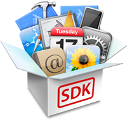 iOS SDK Logo. Image subject to copyright by original owner